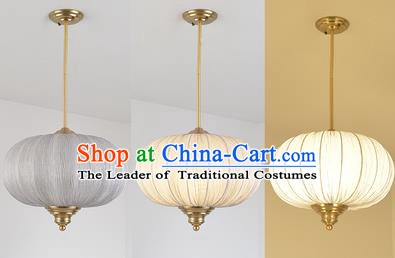 China Handmade Lantern Traditional Lanterns Round Hanging Lamp Palace Ceiling Lamp