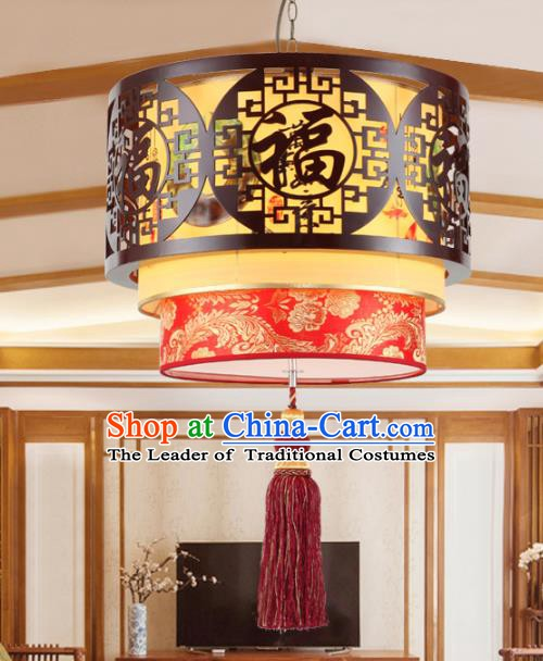 Chinese Handmade Lantern Traditional Palace Ceiling Lamp Ancient Hanging Lanterns