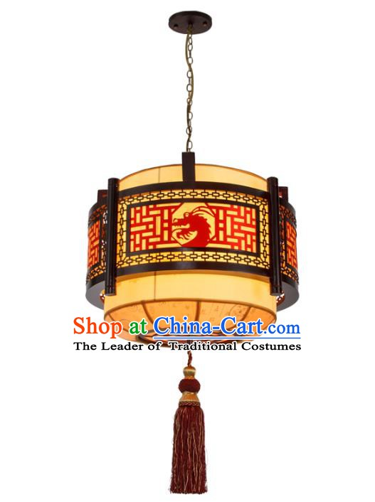 Chinese Handmade Hanging Lantern Traditional Palace Ceiling Lamp Ancient Lanterns