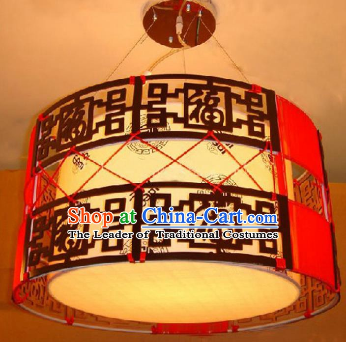 Chinese Classical Handmade Ceiling Palace Lanterns Traditional Hanging Lantern Ancient Lamp