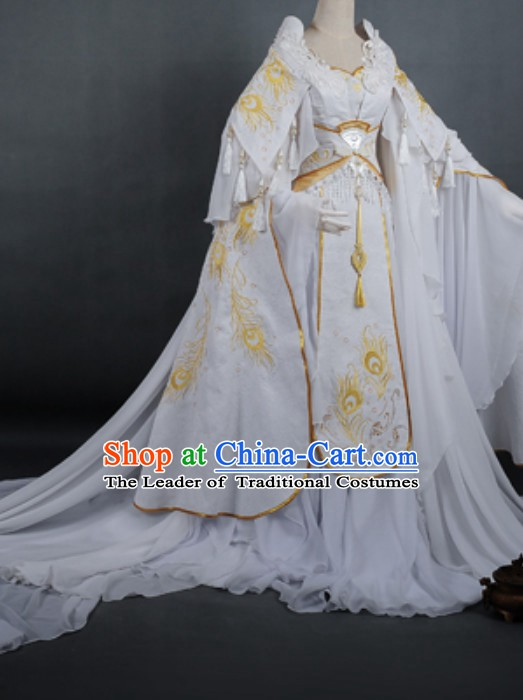 Top China Empress Costume Chinese Imperial Costume Dramas Empress of China Palace Clothing Complete Set