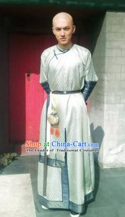Ancient Chinese Qing Dynasty Prince Hongshi Historical Costume Manchu Nobility Childe Clothing for Men