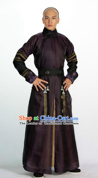 Traditional Chinese Ancient Costume China Qing Dynasty Manchu Emperor Princess Clothing
