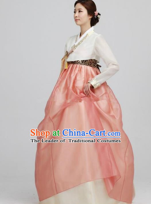 Korean Traditional Bride Palace Hanbok Clothing Korean Fashion Apparel Costumes for Women