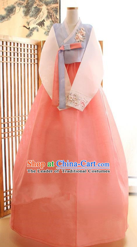 Korean Traditional Hanbok Clothing Korean Bride Fashion Apparel Hanbok Costumes for Women
