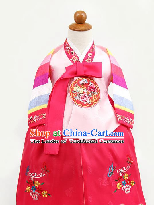 Korean Traditional Hanbok Clothing Korean Children Fashion Apparel Hanbok Costumes for Kids