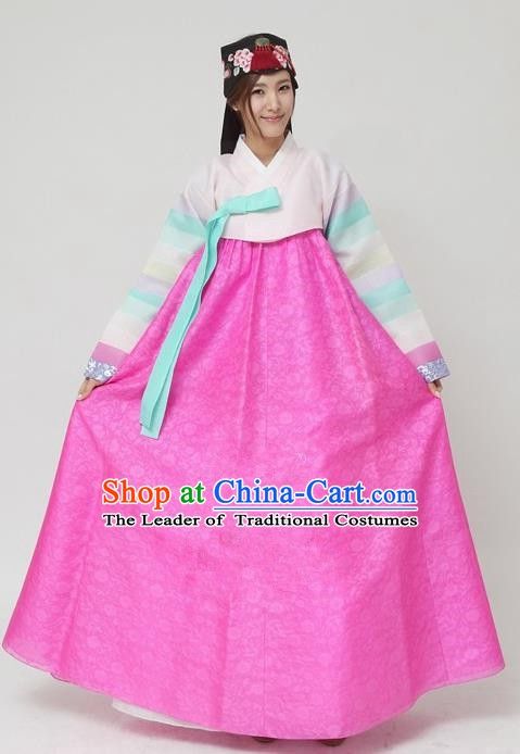 Korean Traditional Bride Palace Hanbok Clothing Korean Fashion Apparel Dress Costumes for Women