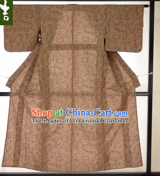 Japanese Ancient Male Kimono Costume Traditional Wafuku Hakama Haori Yukata for Men