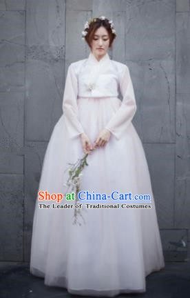 Korean Traditional Handmade Palace Hanbok Dress Fashion Apparel Bride Costumes for Women