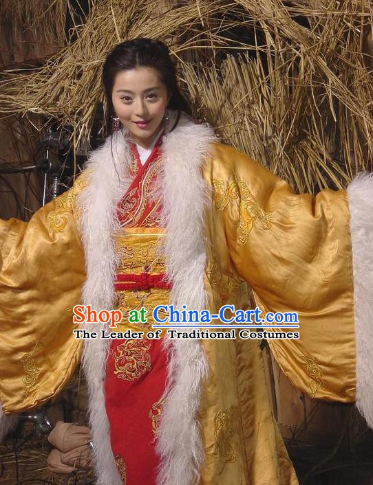 Ancient Chinese Ming Dynasty Princess Costume Palace Lady Clothing for Women