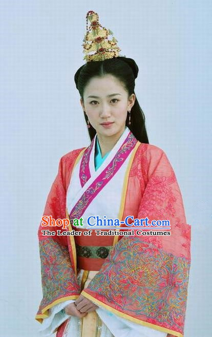 Ancient Chinese Ming Dynasty Princess Pinghu Embroidered Historical Costume Palace Replica Costume for Women