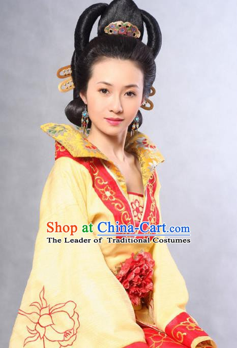 Ancient Chinese Ming Dynasty Palace Empress Replica Costume for Women