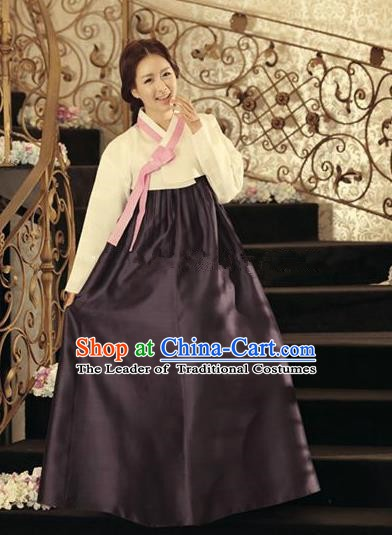 Top Grade Korean Hanbok Traditional Dress Fashion Apparel Costumes for Women