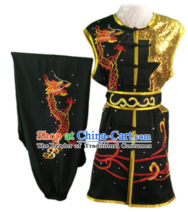 Made to Order Top Nanquan Southern Fist Sleeveless Best and the Most Professional Kung Fu Competition Clothes Contest Suits