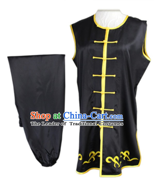 Made to Order Top Nanquan Southern Fist Sleeveless Best and the Most Professional Kung Fu Competition Clothes Contest Suits for Adults Kids Men Women Children