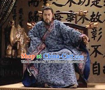 Traditional Chinese Ancient Ming Dynasty Jiajing Emperor Zhu Houcong Costume for Men