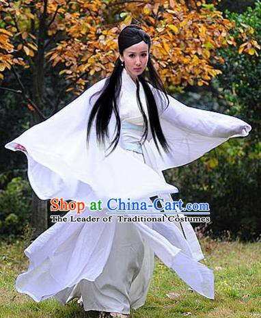 Chinese Ancient Song Dynasty Palace Lady Dress Imperial Consort Pang of Zhao Zhen Replica Costume for Women