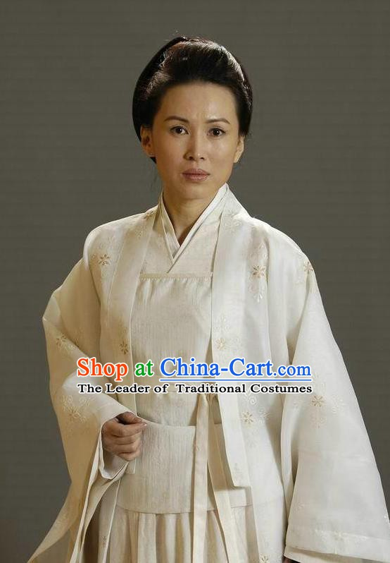 Ancient Chinese Song Dynasty Female General of Yang Family Widow She Saihua Replica Costume for Women