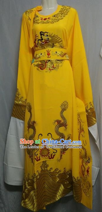 China Traditional Beijing Opera Niche Yellow Robe Chinese Peking Opera Number One Scholar Scholar Costume