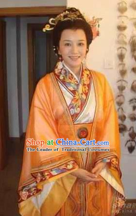 Chinese Ancient Song Dynasty Queen Mother Replica Costume for Women