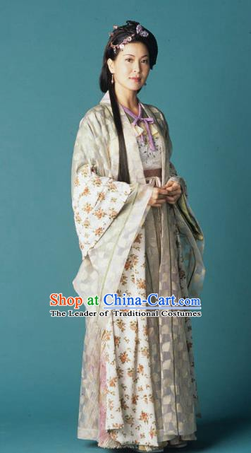 Chinese Ancient Song Dynasty Palace Lady Imperial Consort Replica Costume for Women