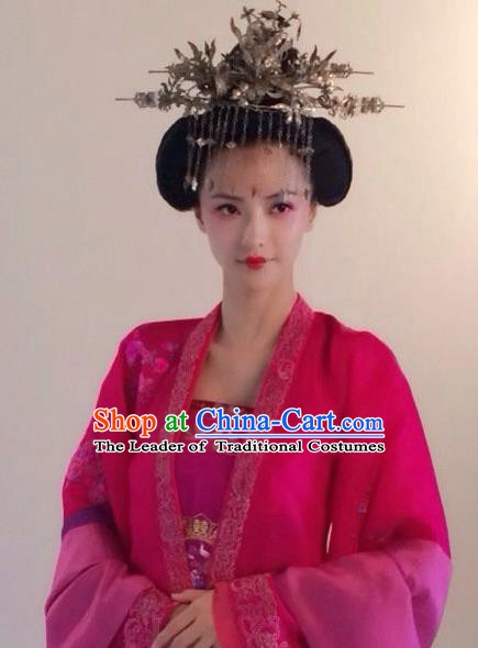 Chinese Ancient Tang Dynasty Princess Consort Hanfu Dress Historical Costume for Women