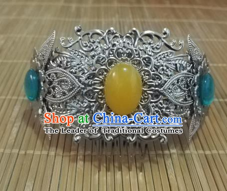 Chinese Ancient Hair Accessories Hairdo Crown Hairpins Headwear for Women