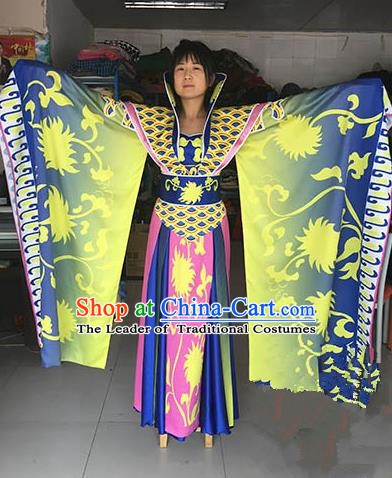 Chinese Ancient Palace Lady Dance Costume Royal Fairy Dress for Women