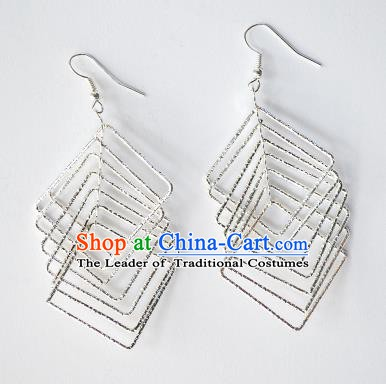 Traditional Chinese Miao Nationality Earrings Hmong
