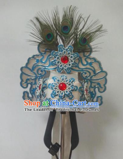 Traditional Chinese Beijing Opera Niche Hair Accessories Hats Peking Opera Scholar Headwear