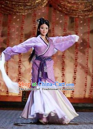 Traditional Chinese Ancient Costume Chu and Han Dynasties Hanfu Clothing