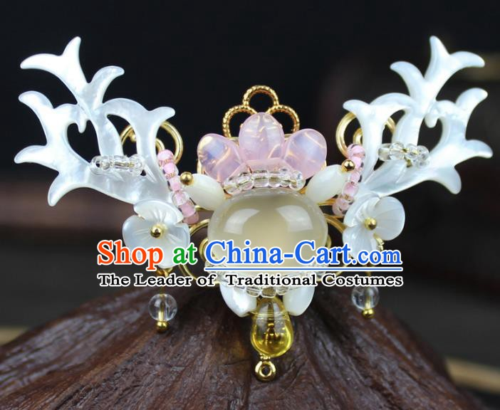 Chinese Ancient Handmade Brooch Accessories Breastpin for Women