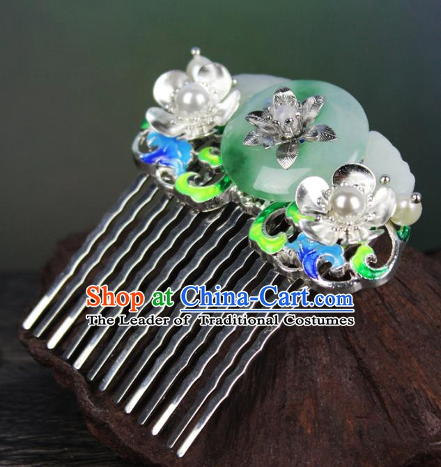 Chinese Ancient Handmade Hair Accessories Hairpins Classical Hanfu Hair Comb for Women