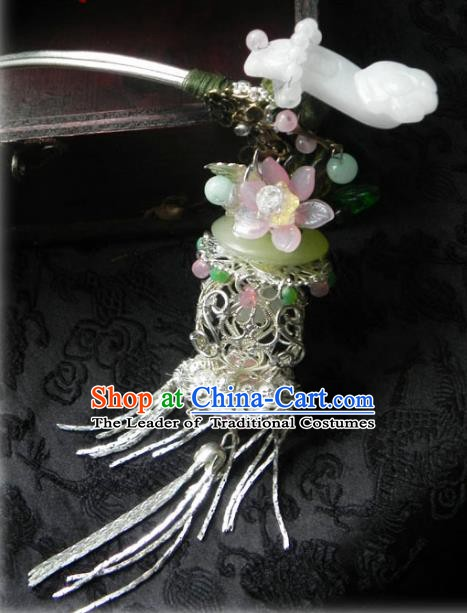 Chinese Handmade Ancient Agate Butterfly Hairpins Step Shake Hair Accessories Classical Hanfu Hair Clip for Women
