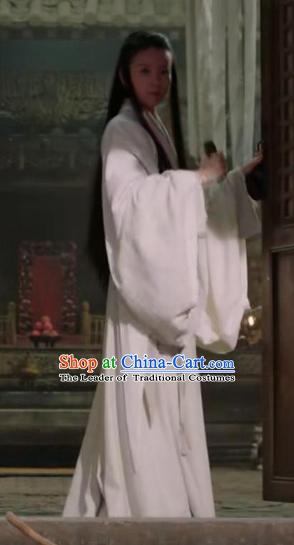 Chinese Ancient Eastern Han Dynasty Princess Consort Tang Hanfu Dress Replica Costume for Women