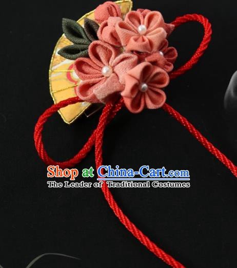 Traditional Asian Japan Hair Accessories Japanese Fashion Apparel Kimono Headwear for Women