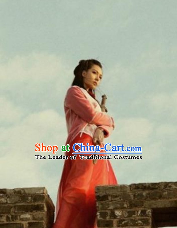 A Chinese Odyssey Zi Xia Swordswoman Costumes Complete Set