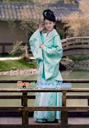 Chinese Ancient Princess Consort Hanfu Dress Nirvana in Fire Southern and Northern Dynasties Nobility Lady Replica Costume for Women