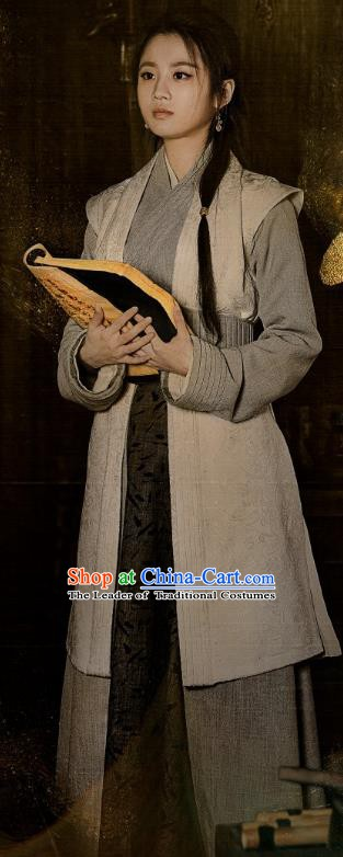 Nirvana in Fire Chinese Ancient Female Physician Lin Xi Replica Costume for Women