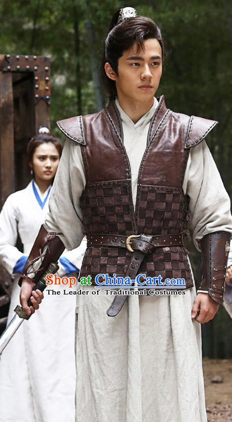 Nirvana in Fire Chinese Ancient Northern and Southern Dynasties General Swordsman Xiao Pingjing Replica Costume for Men