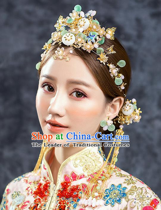 Chinese Ancient Style Hair Jewelry Accessories Cosplay Hairpins Headwear Headdress for Women