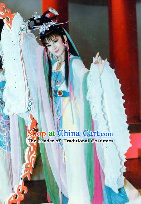 Traditional Chinese Ancient Beauty Diau Charn Hanfu Dress Three Kingdoms Period Diaochan Replica Costume for Women