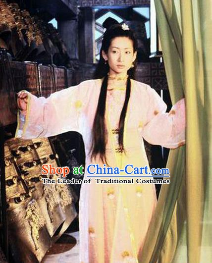 Chinese Ancient Chunqiu Period Imperial Concubine Li Hanfu Dress Embroidered Replica Costume for Women