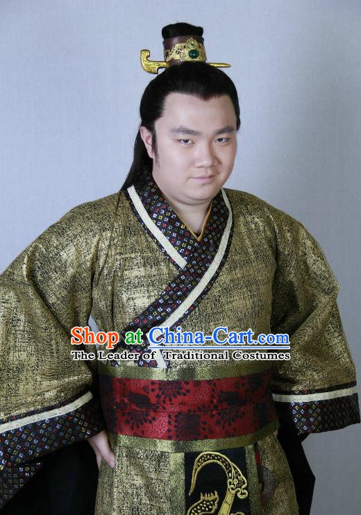 Traditional Chinese Ancient Costume Warring States Period Hanfu Clothing