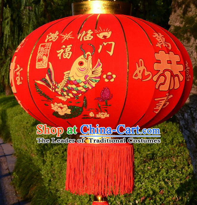 Traditional Handmade Chinese New Year Lanterns Electric LED Lights Lamps Lamp Decoration