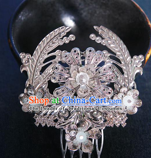 Chinese Ancient Hair Accessories Hanfu Hairpins Traditional Palace Hair Comb Headwear for Women