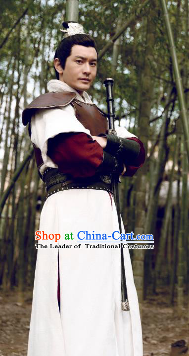 Nirvana in Fire II Chinese Ancient General Xiao Pingzhang Historical Costume Southern and Northern Dynasties Armour Clothing