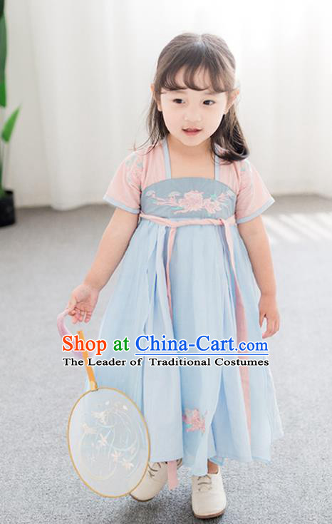 Children Stage Performance Costume Catwalks Folk Dance Clothing Classical Dance Dress