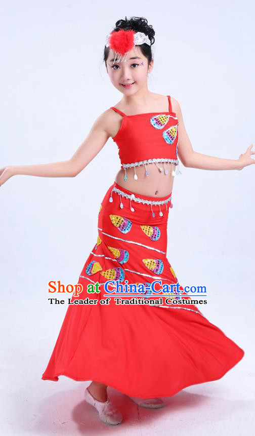 0b1cd20c6f0c Chinese Folk Dance Costumes for Women or Kids