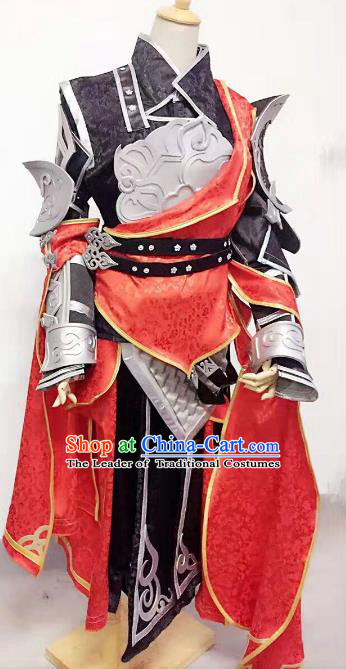 Traditional China Cosplay Swordsman Costumes Chinese Ancient Knight-errant Clothing for Men